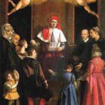 Sant Ivo protegge le vedove e gli orfani, Jacopo da Empoli, Galleria Palatina, Florencja