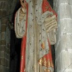igura w katedrze w Tréguier, fot. JC Even