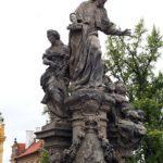 Św. Iwo, Most Karola, Praga
