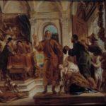 w. Iwon wspomagający biednych, Jacob Jordaens